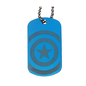 Placa Capitan America