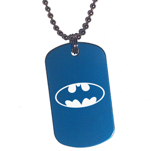 Placa Azul Batman