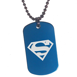 Placa Azul Superman