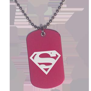 Placa Roja Superman
