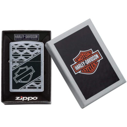 Zippo Harley Davidson Escudo