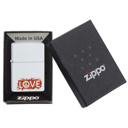 Zippo Blanco LOVE