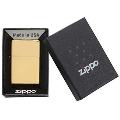 Zippo Dorado Brillante