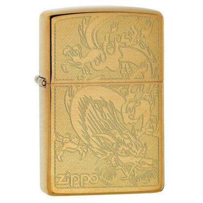 Zippo Dragon Dorado