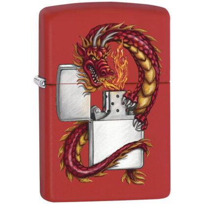 Zippo Dragon Rojo