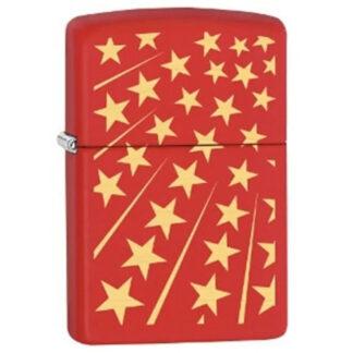 Zippo Estrellas Amarillas con Rojo