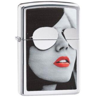 Mujer Gafas Cromo