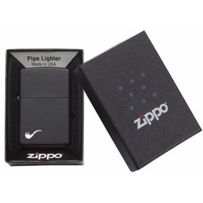 Zippo Pipa Negro Mate